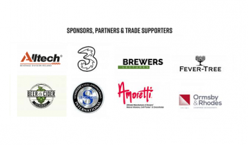 Sponsors, Alltech, Fever-Tree, Brewers Lectures, Three Ireland, Amoretti, Spectac, Beer & Cider Academy, Ormsby & Rhodes